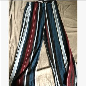 Multi-color striped Pants: Urban Outfitters